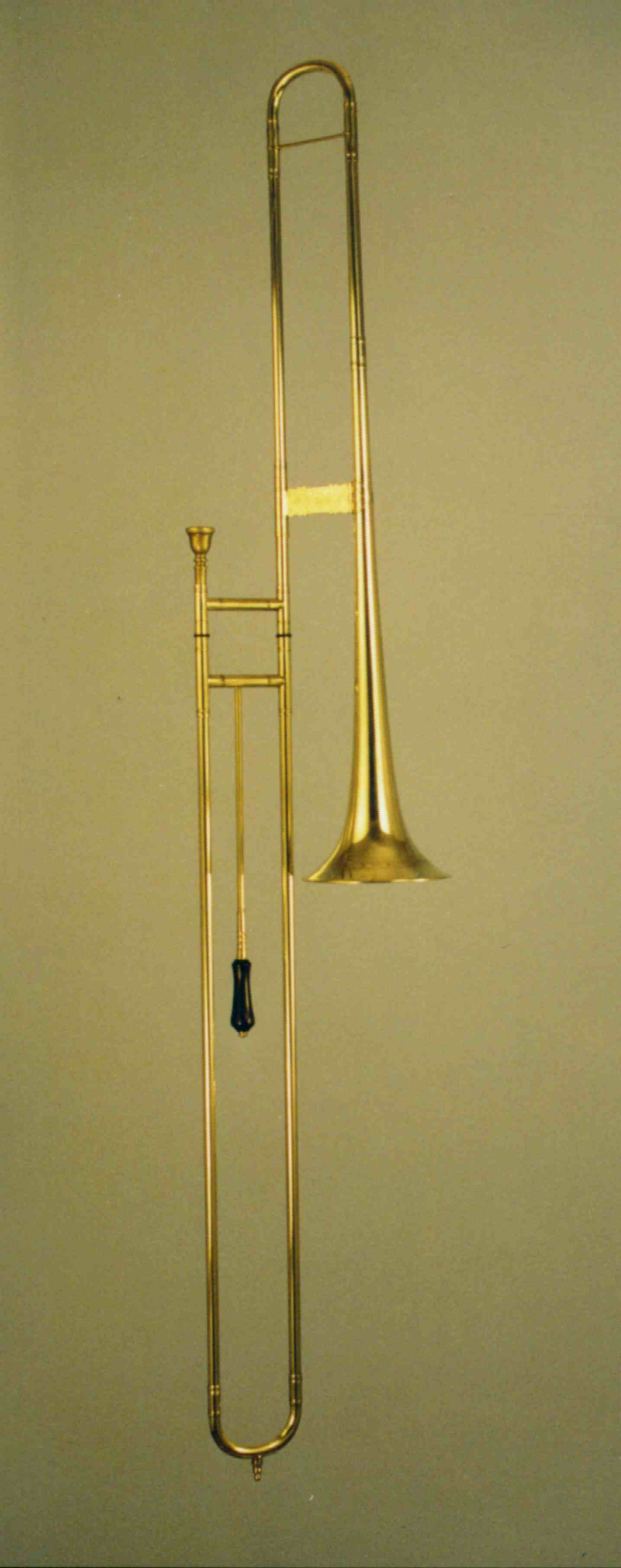 Classical Bass-Sackbut, straight construction