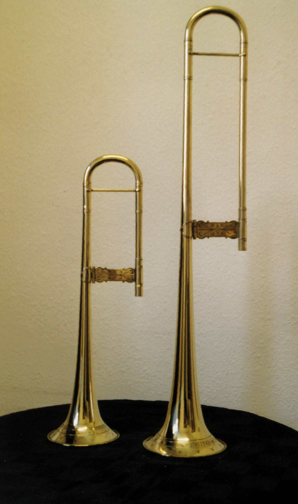 clasclassical alto sackbut corpus and classical tenor sackbut corpus