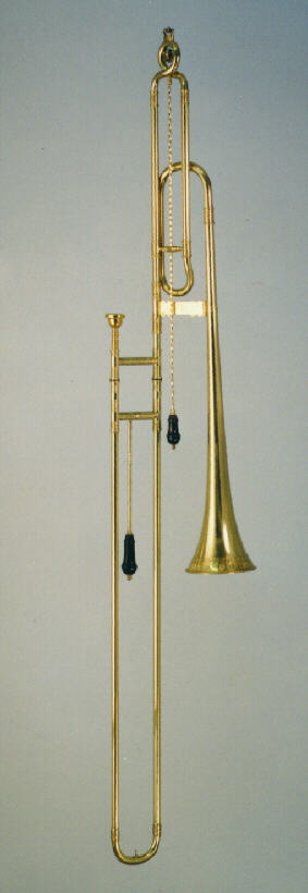 renaissance/baroque-bass sackbut in Eb and D Model Ehe